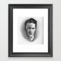 Clever Boy Framed Art Print