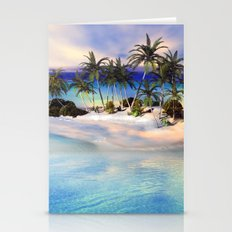 Wonderful view over the island Stationery Cards