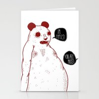 im apples Stationery Cards