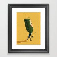 Entrepreneur Framed Art Print