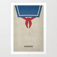 Ghostbusters Minimal Pos… Art Print