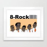 1001 Black Men--#222 Framed Art Print
