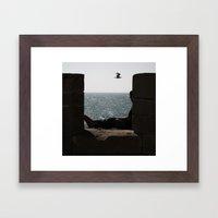 A dream of freedom Framed Art Print