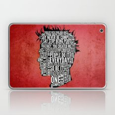Typography Tyler Durden Uncensored Laptop & iPad Skin