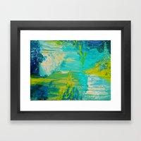 SEASIDE DREAMS - Beautif… Framed Art Print
