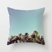 Also Palms Throw Pillow