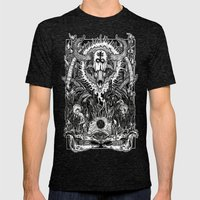 Witching Mens Fitted Tee Tri-Black SMALL