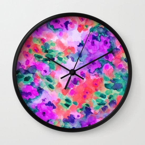 Flourish 2 Wall Clock