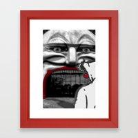 For Shame V2: Carnivale Framed Art Print
