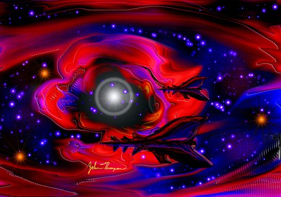 Alien Patrol Canvas Print