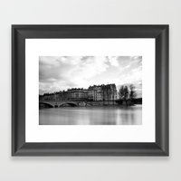 Il De La Cite Framed Art Print