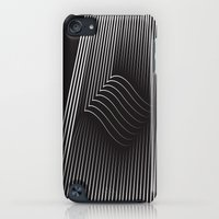 iPod Touch Cases featuring Folded Stripes by Bakmann Art