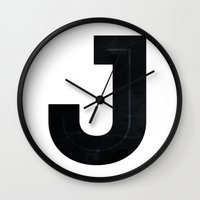 Just J Wall Clock