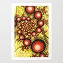 Chinese Balls Art Print
