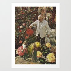 man 'splain Art Print