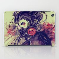 Cyber girl iPad Case