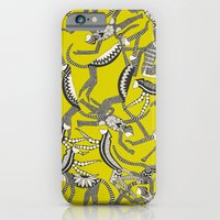 Monkey Chartreuse iPhone 6 Slim Case