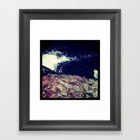 cliffface Framed Art Print