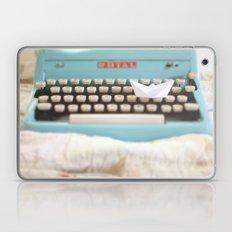 Paperboat & Typewriter Laptop & iPad Skin