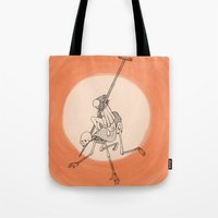 In The Devil's Snare (On… Tote Bag