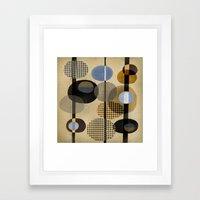 OVALS Framed Art Print
