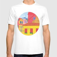 Cannaregio, Venice. (Rem… Mens Fitted Tee White SMALL