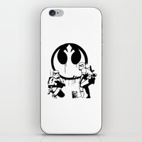 Banksy Troopers iPhone & iPod Skin