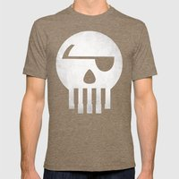 Music Piracy Mens Fitted Tee Tri-Coffee SMALL