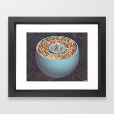 ABDUCTOR Framed Art Print