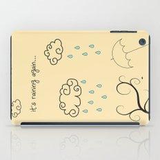 Raining iPad Case