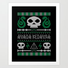 The Dark Sweater Art Print