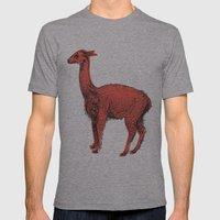 Vicuña Mens Fitted Tee Athletic Grey SMALL