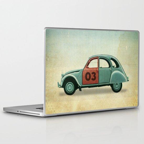 Number 03 _ Citron 2CV Laptop & iPad Skin