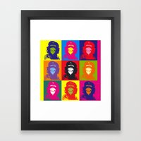Chimp Guevara 9 Times T-… Framed Art Print
