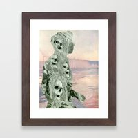 Cranium Man Framed Art Print