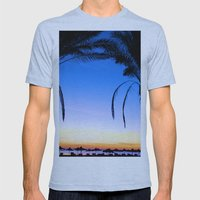 Beach Baby Mens Fitted Tee Athletic Blue SMALL