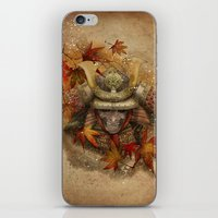 Late Autumn Samurai iPhone & iPod Skin