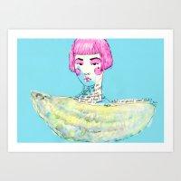 Fashion - Japanese, Karl… Art Print