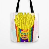 The First Place FRIES Tote Bag
