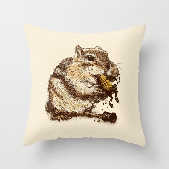 Occupational Hazard  Throw Pillow