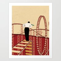 Coaster Art Print