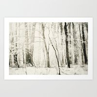 Hundred Acre Woods Art Print