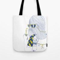 Summer Monster Tote Bag
