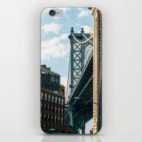 Manhattan Bridge iPhone & iPod Skin
