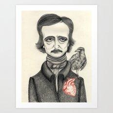 Allan Poe Art Print