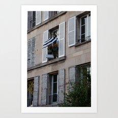 Parisian Awning Art Print