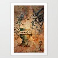 Travel Spirit Art Print