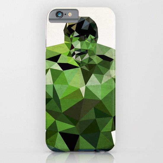 Polygon Heroes - Hulk iPhone & iPod Case