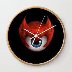 The Eye of Rampage Wall Clock