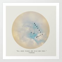 All Good Things (Birds) Art Print